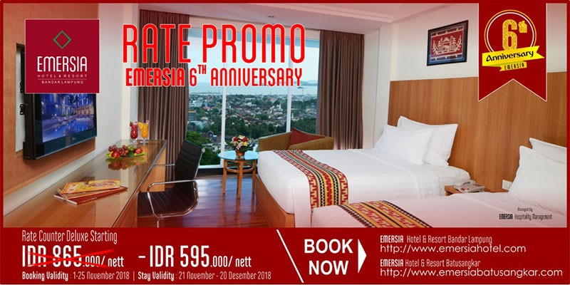 Home Emersia Hotel Resort Lampung